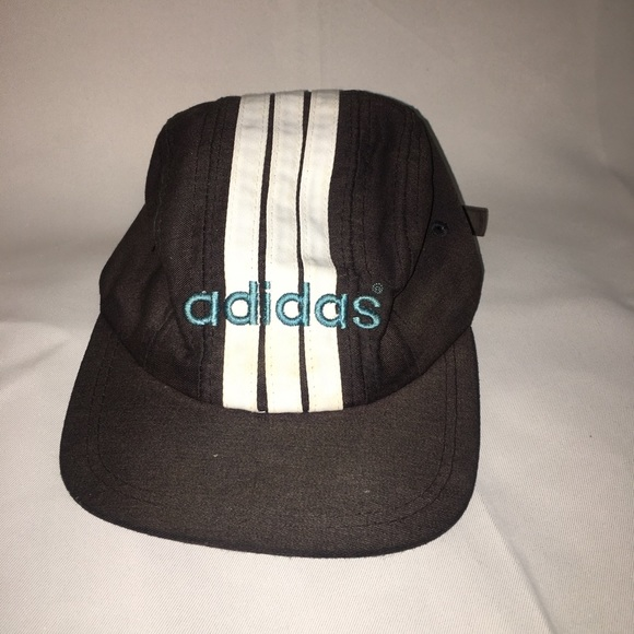 9ed34a62b40 adidas Other - Vintage adidas 90s hat spellout logo